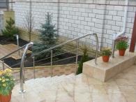 Balustrade pentru scări exterioare