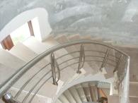Balustrade pentru scări rotunde