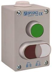 Push-button box IP65 ST22