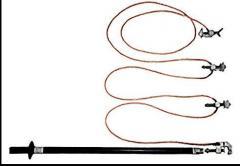 Grounding portable for substation 10-35-110 kV