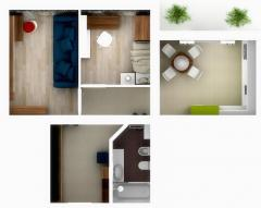 """The 2-roomed apartment in """"Family House"""