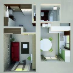 1-to the apartmen