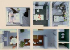 3-х комнатная квартира: площадь 85 м2