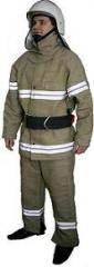 Protective clothes of the firefighter
