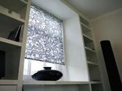 Blinds rolled for plastic windows from Cvantid SRL