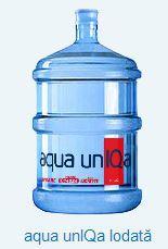 Вода бутилированная aqua unIQa Iodată la 19L