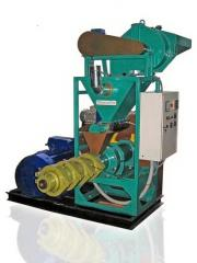 Extruders for soy processing (restoration of the
