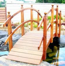 Мостики и мосты деревянные