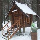 Izbas wooden