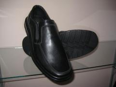 Повседневная обувь для мужчин. Производство
