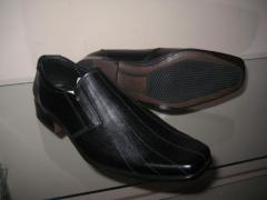 Качественные кожаные туфли. Мужская обувь.