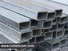 Metal rolling. The pipe is galvanized. TEvi