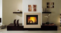 Fireplaces a modernist style in Chisina