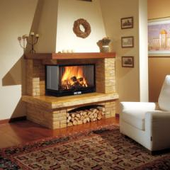 Country fireplaces in Chisina