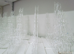 Products from Organic glass