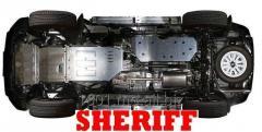 Protectia motor-Защита картера(металлическая)на