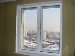 Double-glazed windows are noise-protective