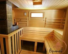 Construction of saunas, baths
