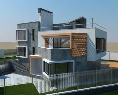 Construction of elite houses.