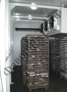Камеры холодильные - шоковая заморозка