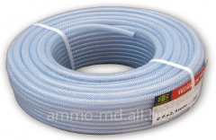 Hose technical the reinforced and not reinforced d-of 6-25 mm / 60bar