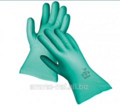 Gloves nitrile oilproof GREBE 33 of cm