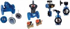 Gates, valves, cranes, latches