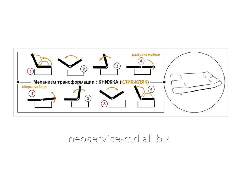Схема сборки дивана клик кляк инструкция