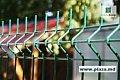 Евро заборы,заборы из штакетника,сетка,столбы,проволока,авто барьеры