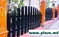 Plasa gard zincat in Moldova,Сетка заборная оцинкованная,сварные панели(евро заборы)