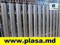 Euro fences (welded panels), barbed wire, metal gauze