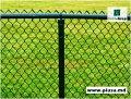 Gard de plasă verde
