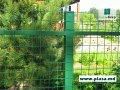 Сетка заборная зеленая