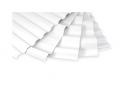 Sheet PVH corrugated rigid PALRUF
