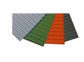 The sheet PVH the corrugated sheet PALTOP which is made foam by PVH