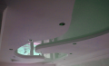 Tension false ceilings of different flowers