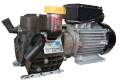 Pumps with the electric motor for garden sprayers