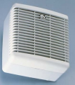 The fan for ventilation of kitchens