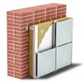Thermal insulation for the ventilated facades