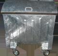 Контейнер оцинкованный 1100 литров, container zincat