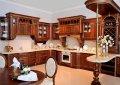 Деревянная кухня Эксклюзив