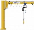 Console rotary crane