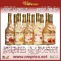 CREM LIQUEUR (Крем-ликёр) - эмульсионный ликёр (какао, банан, амаретто, айриш, виски) / cream liqueur (cocoa, banana, amaretto, whisky, irish cream)