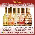 TROPIC LIQUEUR (Тропик-ликёр) - эмульсионный ликёр (шоколад, абрикос, клубника, банан, кокос) / cream liqueur (chocolate, apricot, strawberry, banana, coconut)