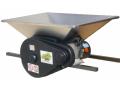 Electric crusher for fruit, the bunker of 950х600 mm.