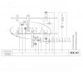 Схема комплектов автоматики Канал-САУ