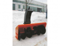 The snowplow is tractor shneko-rotor