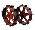 Колесо металлическое с грунтозацепом (большое)