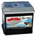Аккумулятор Sznajder Silver Premium 55Ah