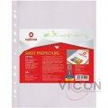 Files are glossy, A4, optima premium, 50 pieces, 80 mkm. O35110